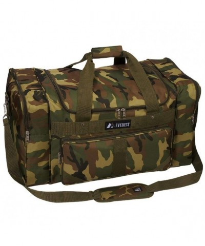 Everest Woodland Camo Duffel Camouflage