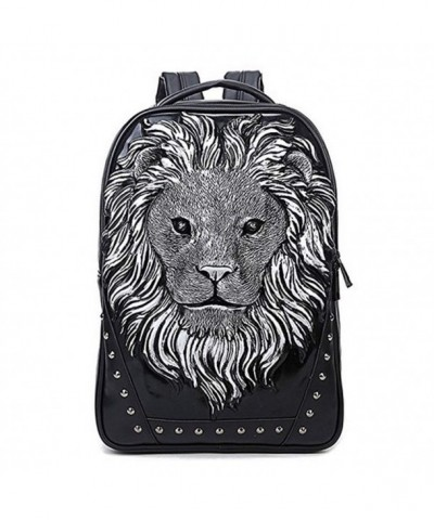 Seamand Personalized Leather Casual Backpack