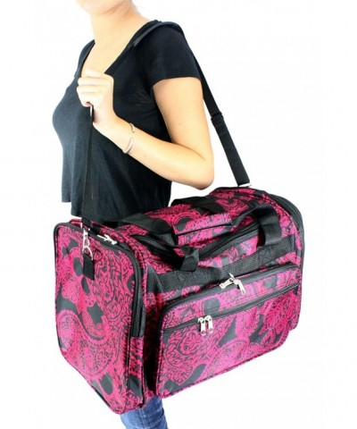 Enimay Womens Duffel Luggage Paisley
