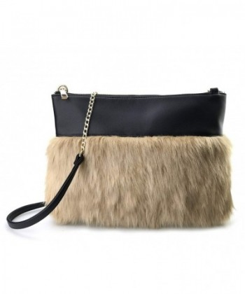 Two tone Texture Leather Shoulder Women