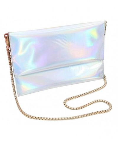 Remeehi Holographic Envelope Handbag Shoulder