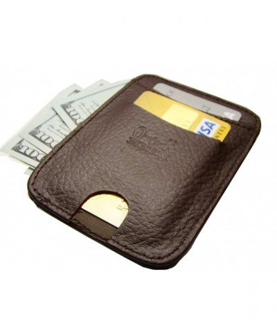 Integrated Blocking Leather Wallet Pocket