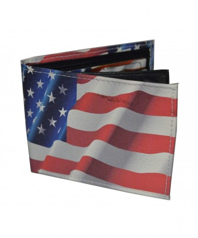 Bifold Picture American Flagwith printed