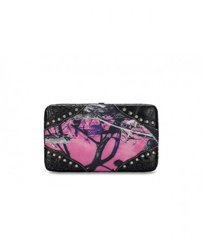 Moonshine Womens Camouflage Western Wallet