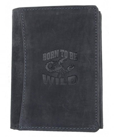 Genuine Leather Born Wild Scorpion