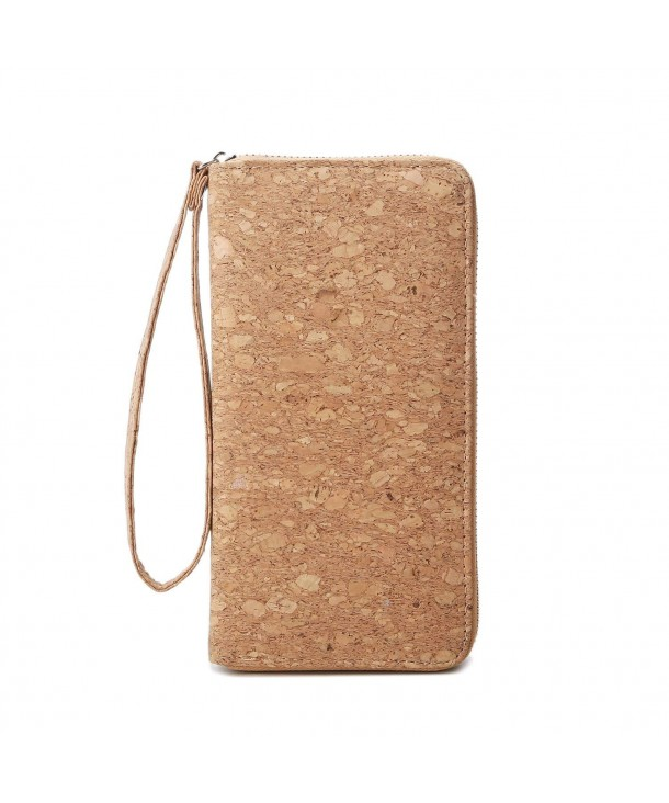 Vegan Cork Wallets Purse Handbags For Womens Eco Friendly Clutch Bag Wood Color Cp18hramaug