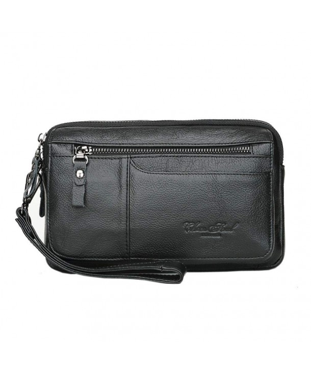 Leather Wristlet Passport Organizer Business