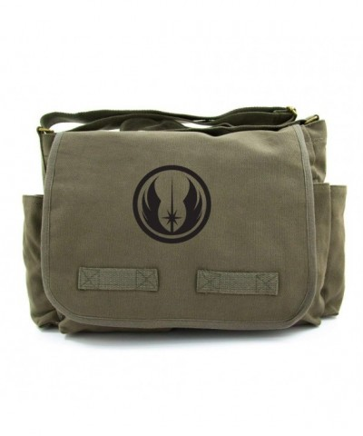 Army Heavyweight Canvas Messenger Shoulder