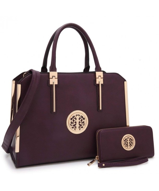 handbags handle Satchel Ladies Leather