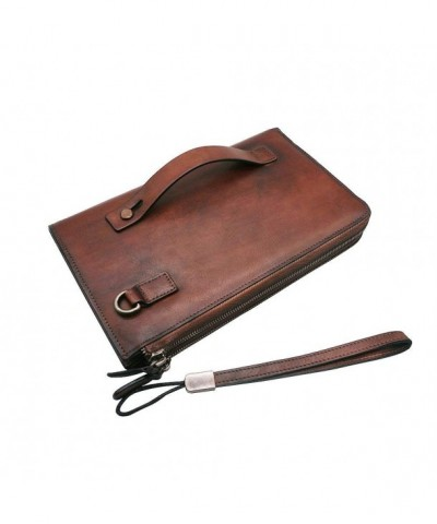 Wristlets Genuine Leather Wallets Handbag