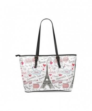 InterestPrint Custom Leather Shoulder Handbags