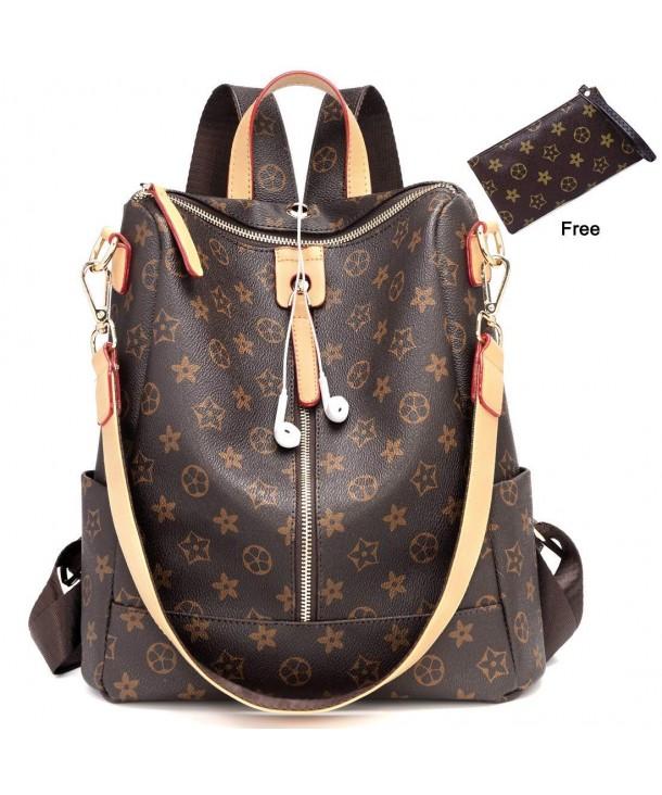 Fashion Leather Backpack Crossbady Shoulder