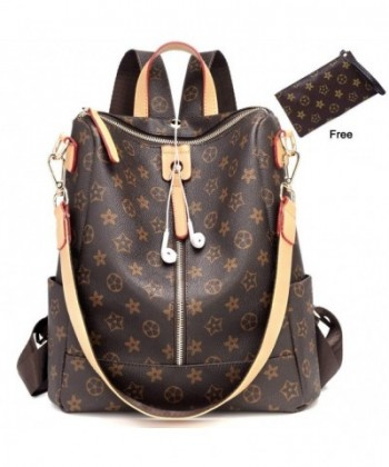 Fashion Leather Backpack Crossbady Shoulder