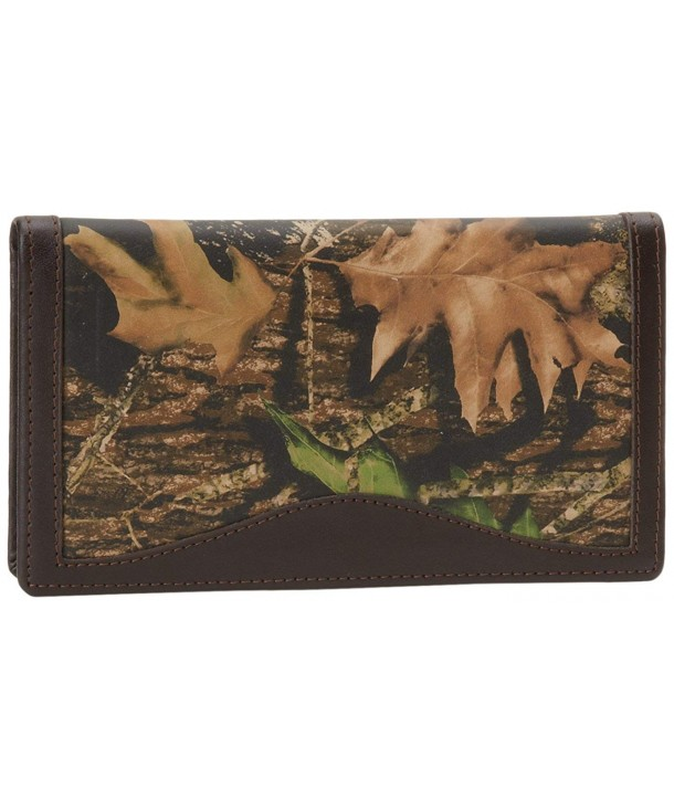 Webers Leathers Break Up Checkbook Cover