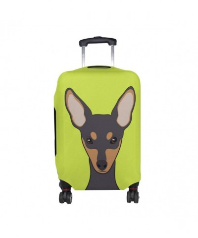 Miniature Pinscher Luggage Suitcase Protector