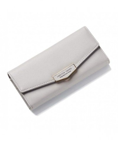 Zhaoyun Womens Trifold Leather Pocket