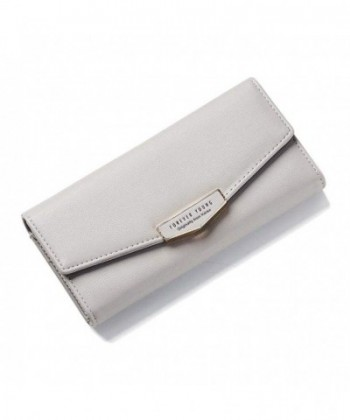 Zhaoyun Womens Trifold Leather Pocket