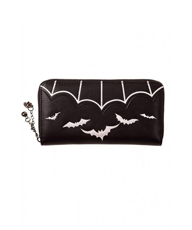 Banned Salem Wallet Black White