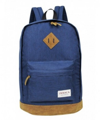 Zeraca Vintage Laptop Backpack College