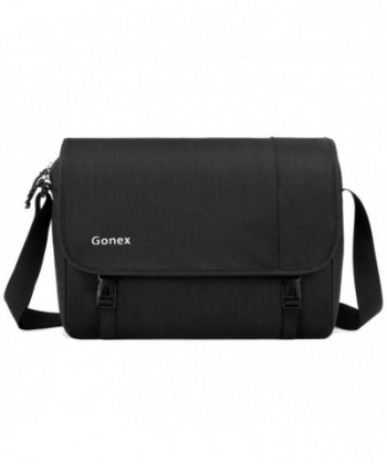 Gonex Laptop Messenger Women Black