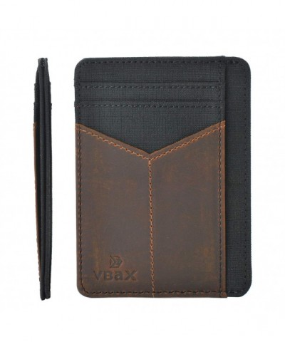 Wallet Leather Minimalist Pocket Credit
