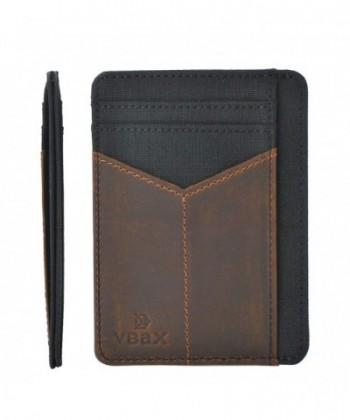 Wallet Leather Minimalist Pocket Credit