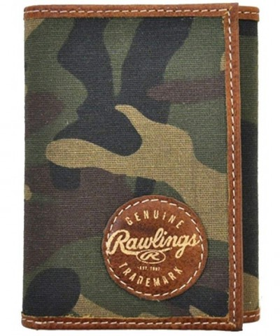 Rawlings Mens Printed Trifold Wallet