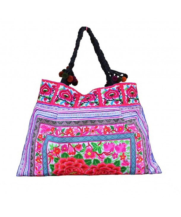 Shoulder Hilltribe Ethnic Handbags Embroidered