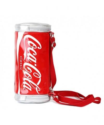 Leather CocaCola Bottle Crossbody Shoulder