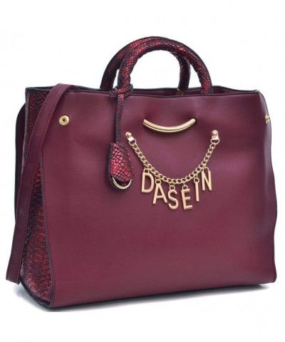 Dasein Designer Signature Shoulder Embossed