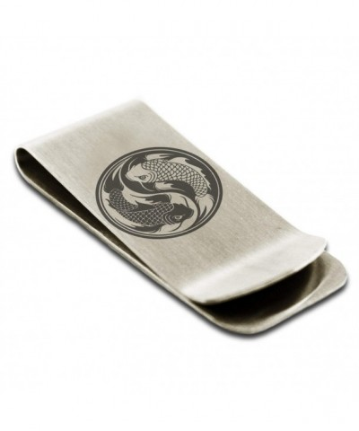 Stainless Symbol Engraved Credit Holder
