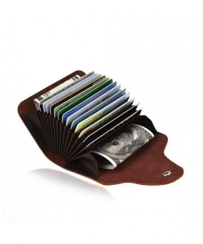 Credit Organizer Wallet Genuine Leather