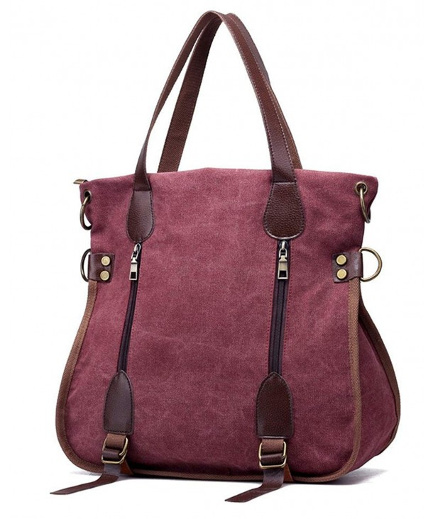 Nawoshow Crossbody Messenger Shoulder Purplish