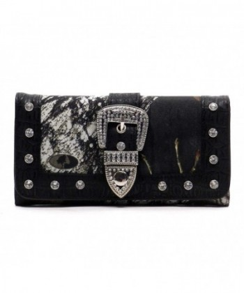 Realtree Western Camouflage Trifold Checkbook