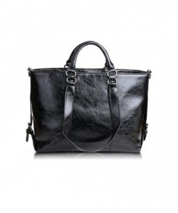Leather Handbags Ekphero capacity Shoulder