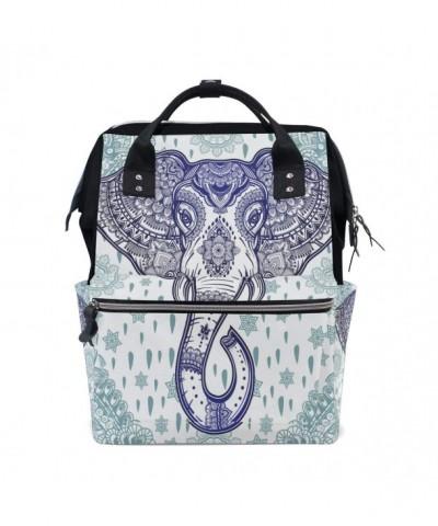 WOZO Bohemian Elephant Multi function Backpack