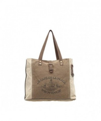 Myra Provence Upcycled Canvas Bag