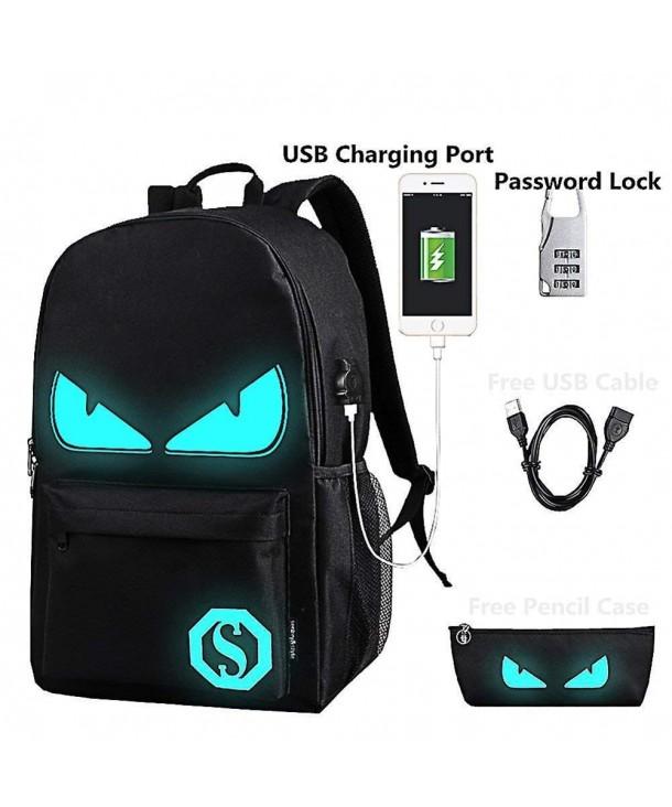 Lmeison Luminous Backpack Shoulder Rucksack
