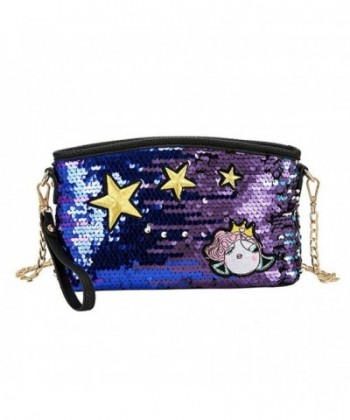 Glitter Crossbody Wristlet Envelope Shoulder