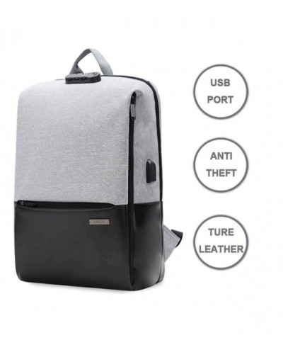 Backpack College Charging Waterproof Bussiness