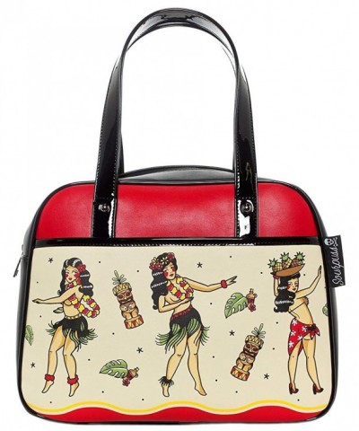Sourpuss Hula Gals Bowler Purse