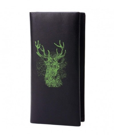 Sellse Bifold Genuine Leather Printed