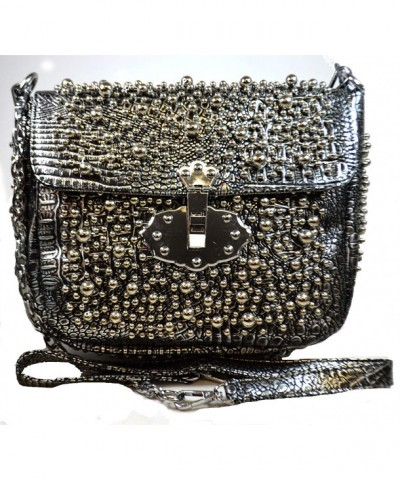Handmade Fashion Metallic Handbag Shoulder