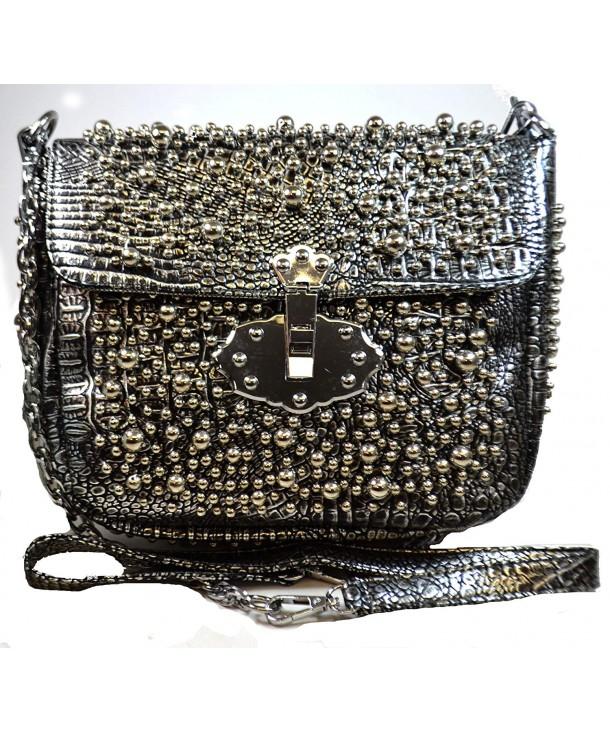 Handmade Fashion Metallic Handbag Shoulder
