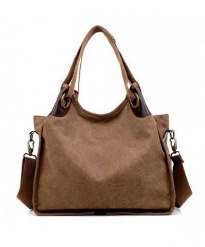 Handbags Canvas Shoulder Shopper Fashion