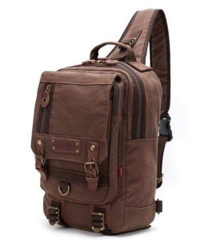Simplebiz Leather Backpack Shoulder Backpack