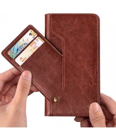 Leather Wallet Phone Kickstand Movable