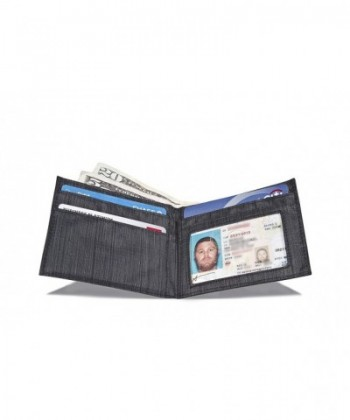 Allett Slim Nylon ID Wallet