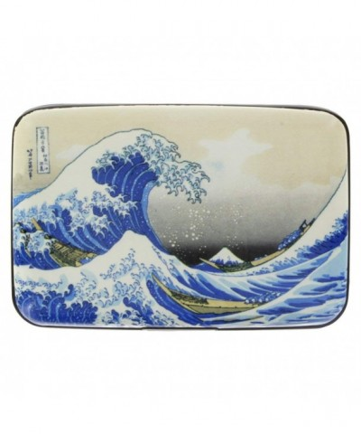 Armored Wallet Credit Kanagawa Hokusai