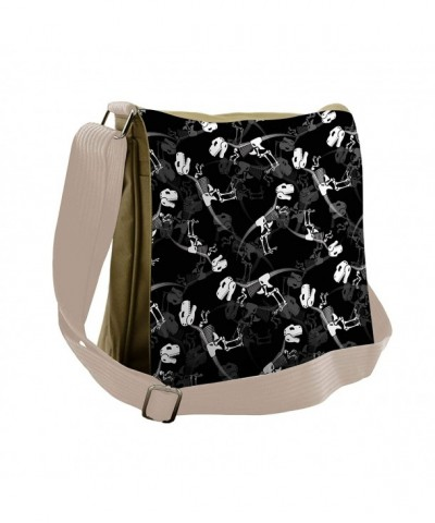 Lunarable Messenger Tyrannosaurus Skeletons Cross body